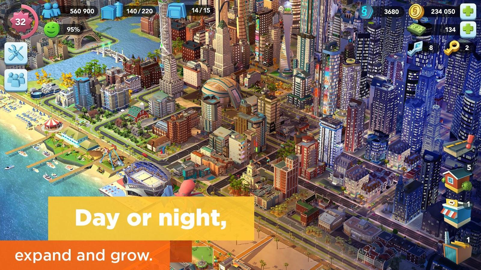 SimCity BuildIt Android