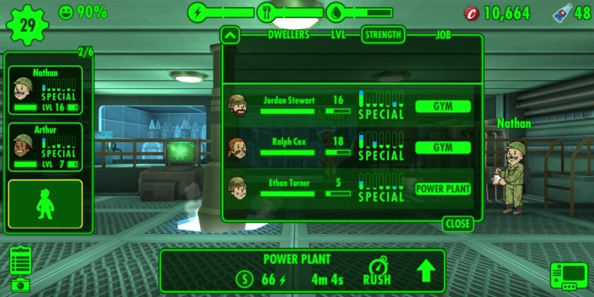 Fallout shelter советы