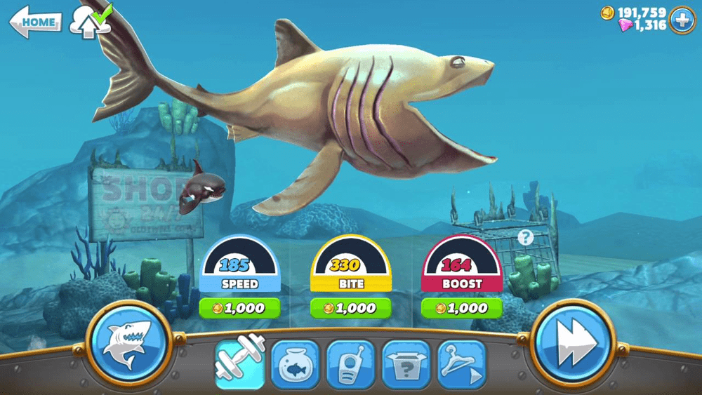 Hungry Shark World Android