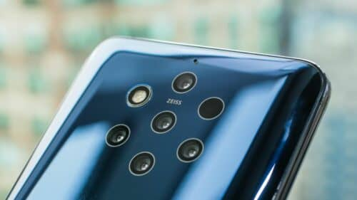 Nokia 9 pureview камера