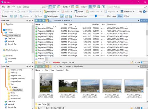 Файловые менеджерыдля windows