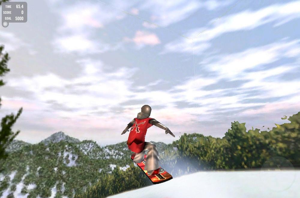 Crazy Snowboard скриншот игры