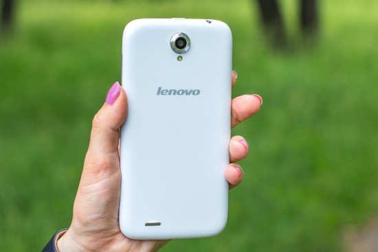 Дизайн Lenovo A859