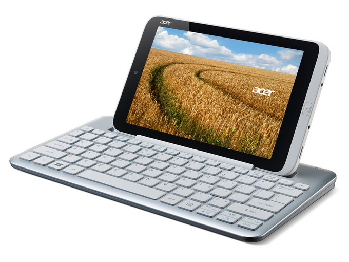 Iconia W3 с внешней клавиатурой