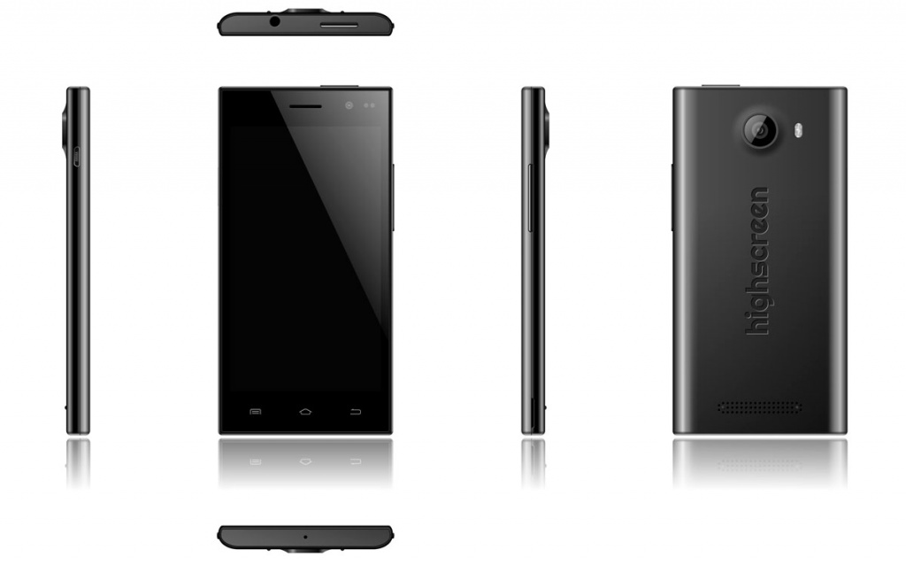 Внешний вид смартфона Highscreen Zera S