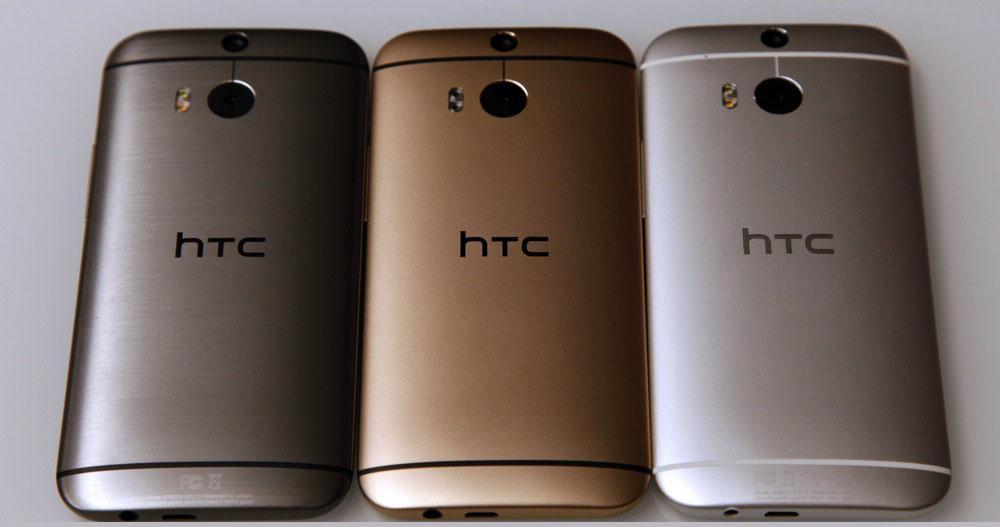 Дизайн смартфона HTC One M8