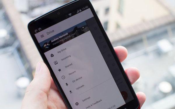 Обновлённый Google Drive