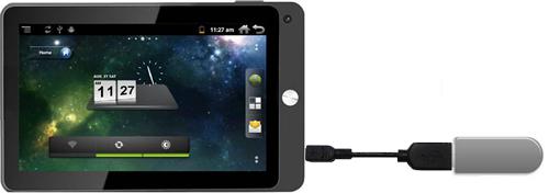 Подключение 3G модема к планшету