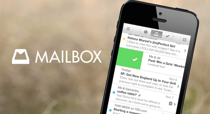 Приложение Mailbox для смартфонов