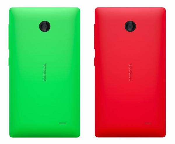 Nokia XL в зеленом и красном цвете