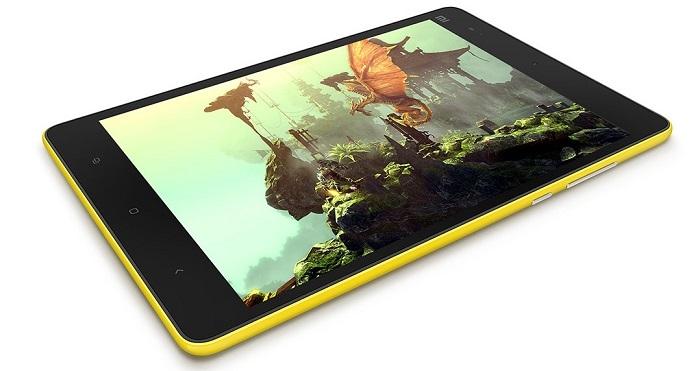 цветовое оформление планшета xiaomi