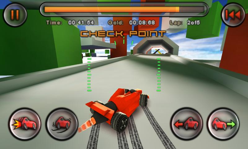 jet car stunts android