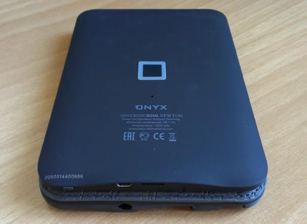 ONYX BOOX i63ML Newton задняя панель корпуса